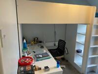Ikea Stuva combination bed, desk & wardrobe
