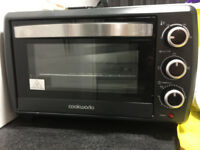 mini oven only used 6-7 times