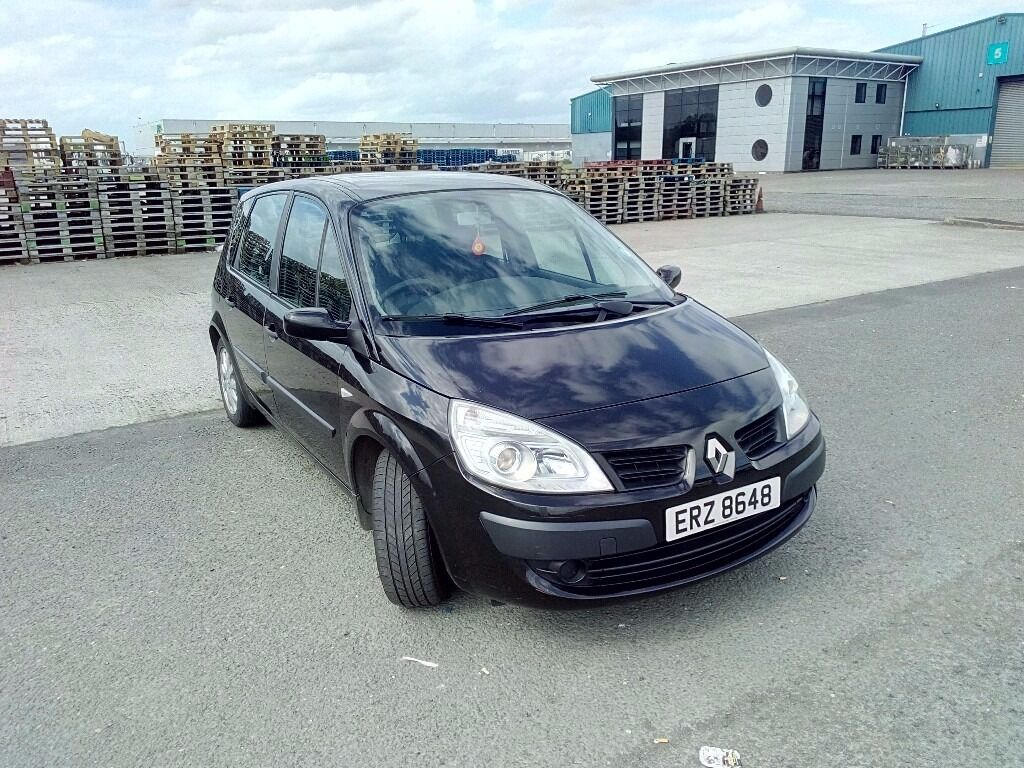Renault Scenic 1.5 dci 115k miles moted