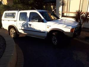 FORD COURIER 2002 DIESEL XLT DUAL CAB Port Lincoln Port Lincoln Area Preview