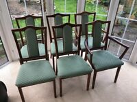 NATHAN TEAK DINING CHAIRS