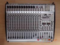 behringer mixer amp