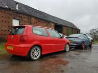 Polo Gti 6n2 in Red Breaking for parts