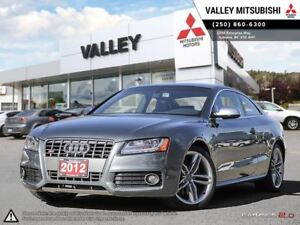2012 Audi S5 S5- AWD, SUEDE SPORT SEATS