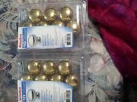 for sale brand new 20 value pack knobs golden