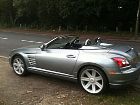 Crossfire Convertible Rare 6 speed