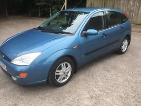Ford Focus zetec petrol 11 months mot