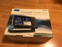 Garmin echomap chirp fishfinder chart plotter preloaded uk ireland Netherlands maps, fishing boat.