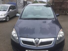 VAUXHALL ZAFIRA 2006 5DR PETROL FULL YEAR MOT EXCELLENT CONDITION