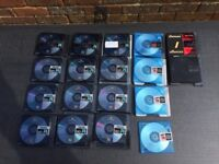 Minidisc's (various makes) all with cases except 1