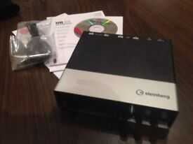 Brand New Steinberg UR-22 Audio Interface For Sale