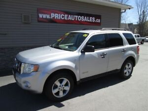 2008 Ford Escape XLT - 4X4 - HEATED LEATHER SEATS!!!