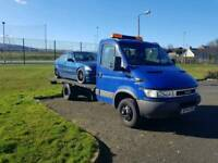 Iveco tilt and slide recovery lorry