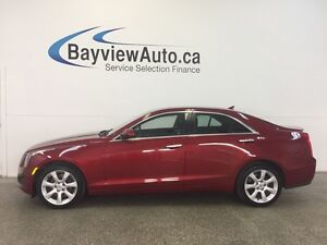 2014 Cadillac ATS - AWD! TURBO! LEATHER! REV CAM! BOSE!