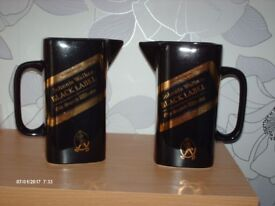 PAIR OF JOHNNIE WALKER WHISKY WATER JUGS