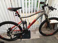 voodoo canzo full size mountain bike