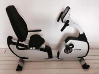 Kettler Giro R Recumbent Exercise Bike (White Edition)