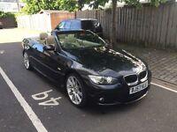 BMW 320I M SPORT 2.0, PETROL, MANUAL, CONVERTIBLE, MOT + SERVICE