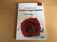 LAW BOOK - Introduction to the English Legal System