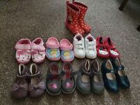 Bundle of shoes, from size 4-6, clarks, next