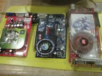 PC PCI graphic cards for sale