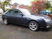 FORD MONDEO 1.8 EDGE, 2007, petrol, 68,500 miles, one owner, FSH