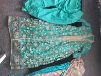 heavy work shalwar kameez party wear,was £200