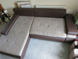 Corner Sofa Bed In Great Condition