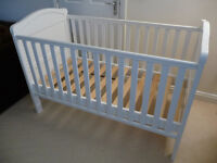 East Coast Cotbed in White