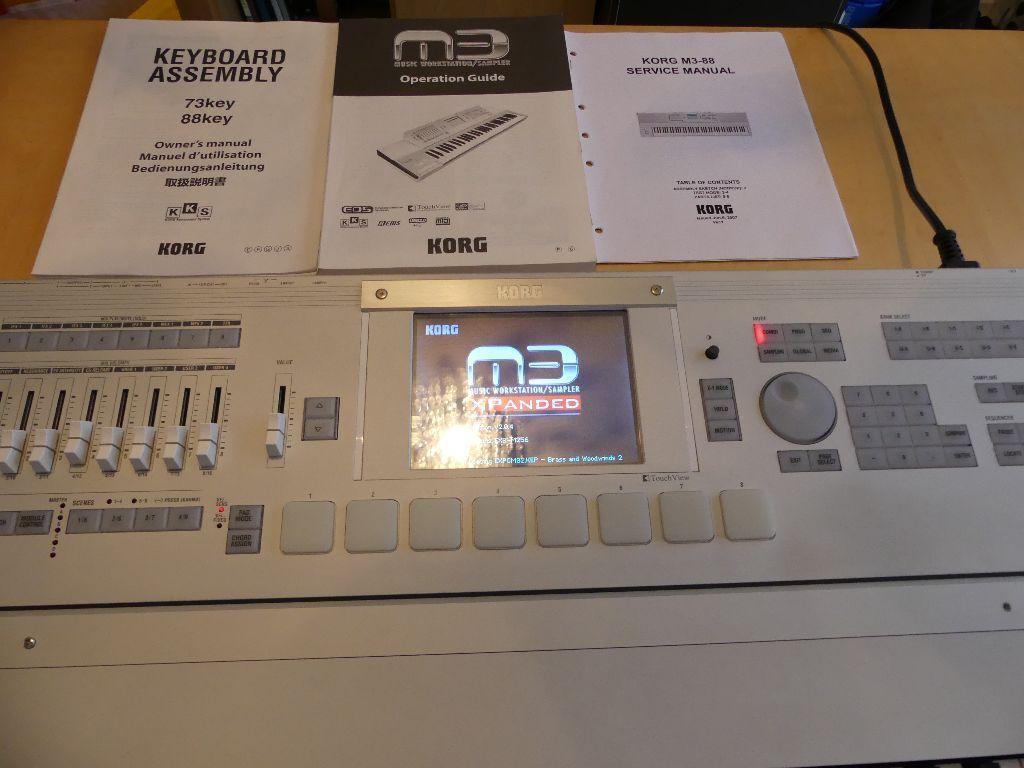 Korg M3 video Manual