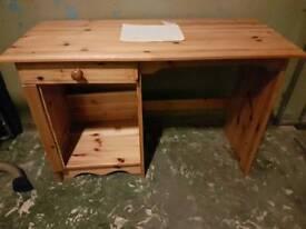 Child's Desk pine wood