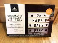 Cinematic led box