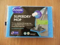 Addis Superdry Absorbent Flat Antibacterial Sponge Mop Refill / Replacement Head