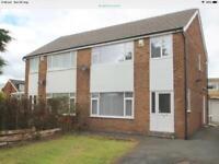 3. Bedroom semi detached house Ls14 whinmoor