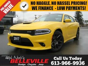 2017 Dodge Charger R/T Daytona Edition-GPS-Sunroof-Technology Gr
