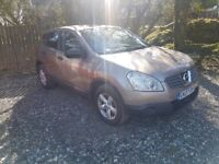 2007 Nissan Qashqai. Long mot swap for motorbike or summer toy?