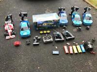 Radio control R/C cars tamiya nikko dash saber etc