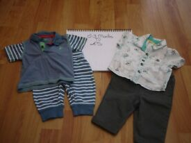 Baby Boy clothes bundle 0-3 months Includes: Mothercare, Mini Club, F&F and George