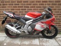 Rieju RS3 125cc sports motorbike Spares or Repairs