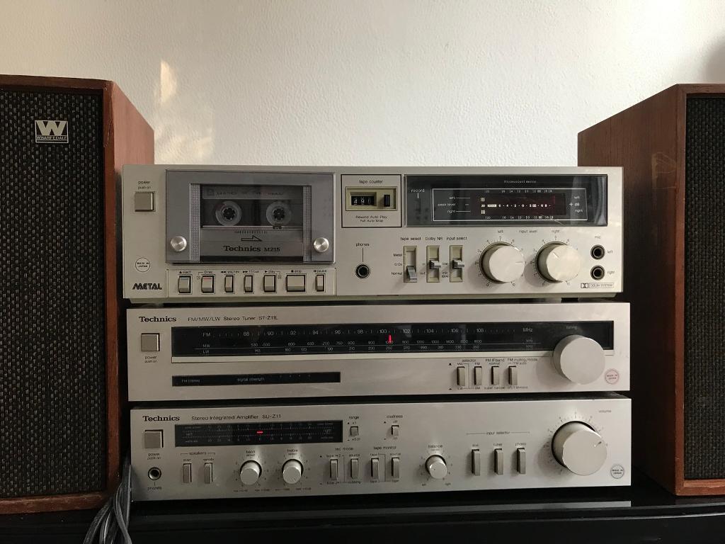 Technics SU-Z11 amplifier, Technics ST-Z11L TUNER, M215 deck+Whaferdale  Denton 2 | in Milton Keynes, Buckinghamshire | Gumtree