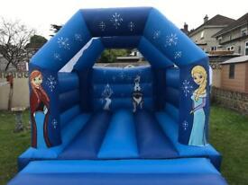 Frozen bouncy castle 15x11