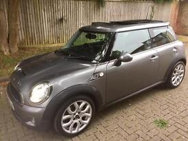 MINI COOPER S AUTOMATIC PANORAMIC ROOF LEATHER ZENON 2009 ONLY 34K MILES