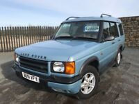 2001 51 LANDROVER DISCOVERY TD5 2.5 *DIESEL* 4x4 - *FEBRUARY 2019 M.O.T* - GOOD EAMPLE!