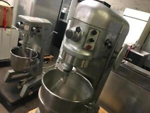 Used Hobart 20 , 30 , 40 and 60 qrt dough mixers ! Shipping avaiable in Canada