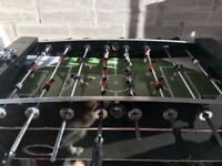 Large solid football table