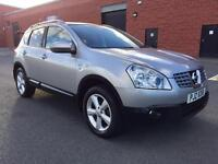 DECEMBER 2009 NISSAN QASHQAI N-TEC 1.5 DCI FULL SERVICE HISTORY TWO OWNERS LONG MOT