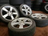 "Genuine OEM Mazda RX-8 18"" 5x114.3 alloy wheels nissan honda toyota"