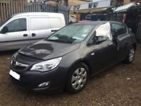 VAUXHALL ASTRA J BREAKING FOR SPARES