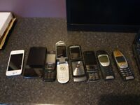 Nokia, Samsung, Motorola, iphone, joblot