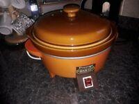 Vintage Prestige Crock-Pot Slow Electric Cook